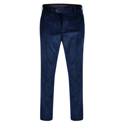 Magee 1866 Blue Corduroy Classic Fit Trouser