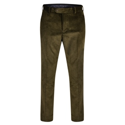 Magee 1866 Green Corduroy Classic Fit Trouser