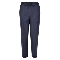 Magee 1866 Navy Tina Wool Classic Fit Trousers