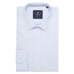 Magee 1866 Blue Altahan Tailored Fit Shirt