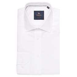 Magee 1866 White Altahan Classic Fit Shirt