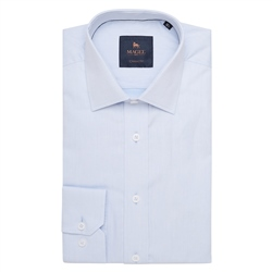 Magee 1866 Blue Altahan Classic Fit Shirt