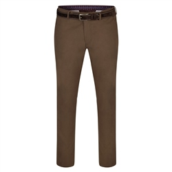 Brown Dungloe Mill-Washed Classic Fit Trouser