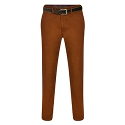 Magee 1866 Copper Dungloe Washed Look Classic Fit Trouser