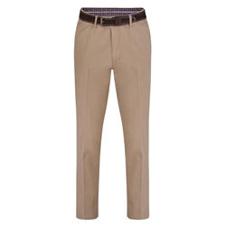 Magee 1866 Beige Dungloe Washed Classic Fit Trouser