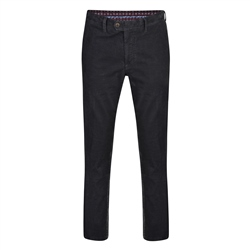 Grey Dungloe Needle Cord Classic Fit Trousers