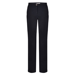 Magee 1866 Navy Sandy Washed Tailored Fit Trousers