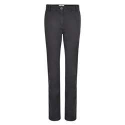 Magee 1866 Grey Sandy Washed Look Tailored Fit Trousers
