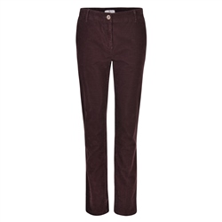 Magee 1866 Plum Sandy Washed Look Tailored Fit Chino