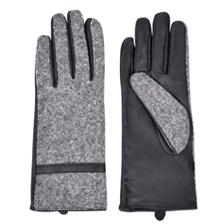 Magee 1866 Women's Grey Clogher Donegal Tweed Gloves