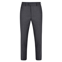 Magee 1866 Grey Flannel Classic Fit Trousers