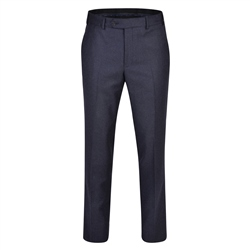 Magee 1866 Navy Flannel Classic Fit Trousers