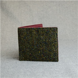 Magee 1866 Green Salt & Pepper Magee Mens Wallet