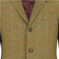 Green Herringbone Lathkill Shooting Jacket