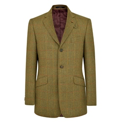 Magee 1866 Green Herringbone Lathkill Shooting Jacket