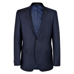 Magee 1866 Navy pencil stripe 2-Piece Classic Fit Suit