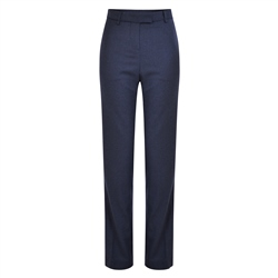 Magee 1866 Navy Aria Check Trousers
