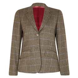 Magee 1866 Green Alicia Check Donegal Tweed Jacket