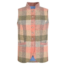 Magee 1866 Patchwork Georgie Salt & Pepper Donegal Tweed Waistcoat