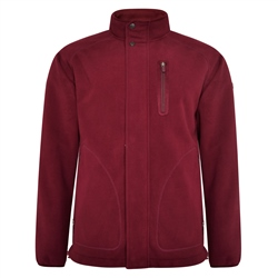 Maroon Birra Technical Weatherproof Fleece