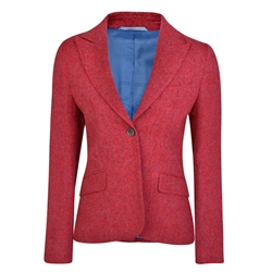 Magee 1866 Hot Pink Lily Donegal Tweed Jacket
