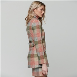 Patchwork Linsford Salt & Pepper Donegal Tweed Coat