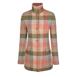 Magee 1866 Patchwork Linsford Salt & Pepper Donegal Tweed Coat