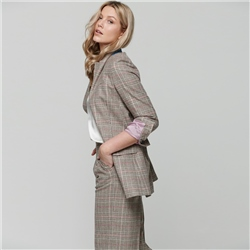 Multicoloured Moyne Donegal Tweed Jacket