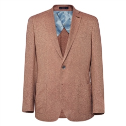 Rust & Oat Easky Herringbone Tailored Fit Jacket