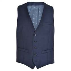 Navy Micro-Fine Weave Tailored Fit Suit