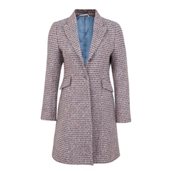 Magee 1866 Multicoloured Grace Tailored Fit Coat