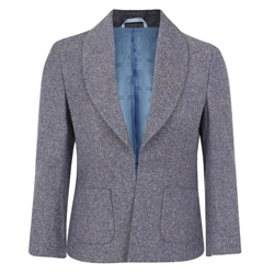 Multicoloured Sadie Salt & Pepper Donegal Tweed Jacket