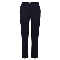 Magee 1866 Navy Sandy Cropped Tailored Fit Trousers