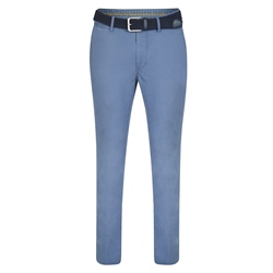 Magee 1866 Blue Callan Washed Tailored Fit Trousers