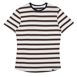 Magee 1866 Striped Clogher Plain T-Shirt