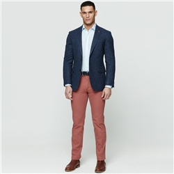 Red Dungloe Washed Classic Fit Trouser