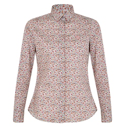 Magee 1866 Multicoloured Hannah Liberty Print Classic Fit Shirt