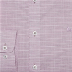 Pink & White Rarooey Check Tailored Fit Shirt