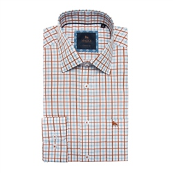 Magee 1866 Multicoloured Tullagh Grid Check Classic Fit Shirt