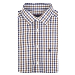Magee 1866 Multicoloured Tullagh Gingham Check Classic Fit Shirt