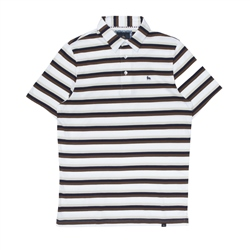 Magee 1866 Rahan Polo Shirt in Stripe