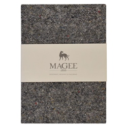 Magee 1866 Grey Donegal Tweed Magee Note Book A5