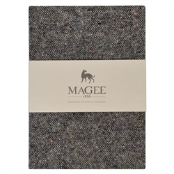 Grey Donegal Tweed Notebook A6