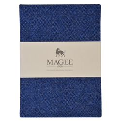 Magee 1866 Blue Donegal Tweed Magee Note Book A6