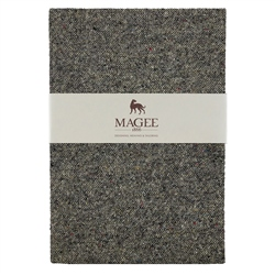 Grey Donegal Tweed Notebook A4