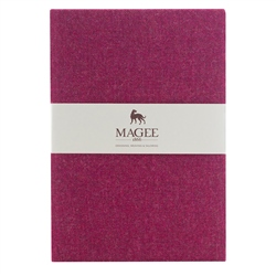 Pink Donegal Tweed Notebook A4
