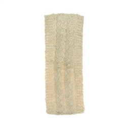 Magee 1866 Cream heather Handknit Cara Headband