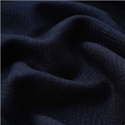Bluestack - Navy & Blue Herringbone Donegal Tweed