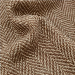 Magee 1866 Errigal - Brown & Oat Herringbone Donegal Tweed
