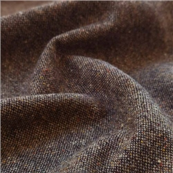 Magee 1866 Eske - Brown Salt & Pepper Flecked Donegal Tweed